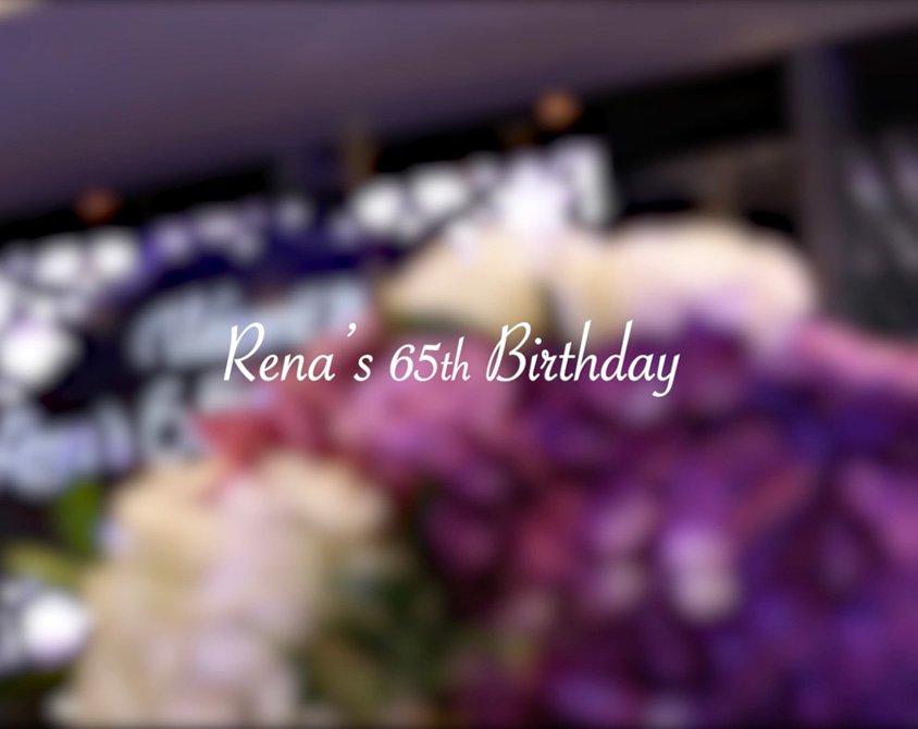 Rena's 65th Birthday